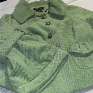 MOVING SALE! Etcetera Green Jacket